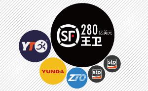 图解|中国快递业崛起,六位创始人总资产超470亿美元