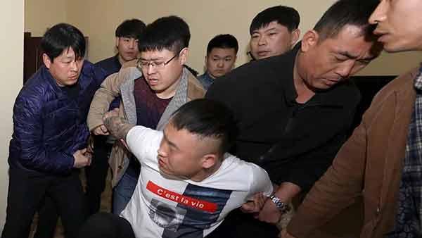 沧州男子挑衅值勤交警,已被捕