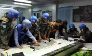 中国维和官兵营救7名联合国民事人员,一度遭重装皮卡包围