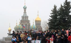 普京谈反腐游行:任何人都应守法,反对政治力量借机造势
