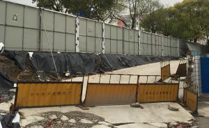 上海环世纪公园绿道贯通后不拆挡板,建设单位称尚未完工