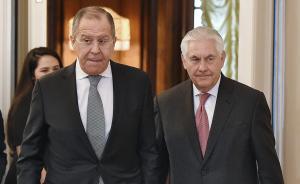 """蒂勒森在俄遭""""冷遇""""的背后:除了反恐,美俄已无合作动力"""