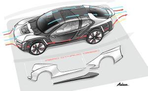 超级电动概念车Model K-EV即将来袭
