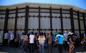 美墨边境墙短暂开放:珍贵的三分钟