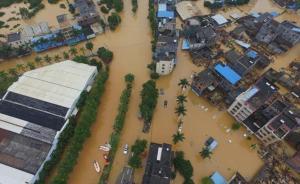 特大暴雨袭广州致172间房倒塌6925人转移,无人伤亡