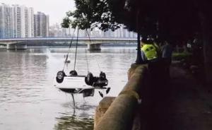 广州一小客车凌晨失控坠江致4死,警方:6人血液均检出酒精