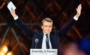 法国大选·镜头 马克龙踩着欢乐颂节拍,勒庞瞄向立法选举