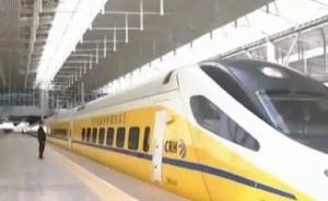 张家口-呼和浩特客运专线进行联调联试,系内蒙古首条高铁