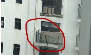 """昆明通报""""一小区5户阳台坠落"""":系13楼人为切断钢筋所致"""