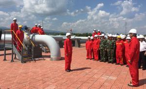 中缅原油管道原油进入中国,在云南石化加工后售往多个省份