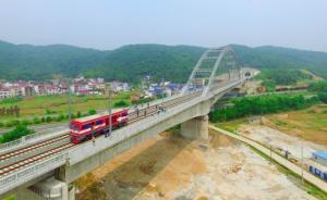 武九客专江西段今年9月具备开通条件,南昌至武汉90分钟