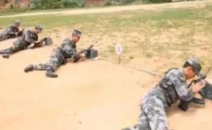军改后首次士兵考学启动,军事科目考核全面展开