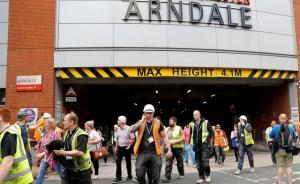 曼彻斯特购物中心传爆炸声,一男子涉嫌炸弹威胁被警方逮捕