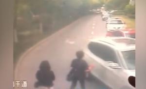 """两大妈专挑高档轿车女司机""""碰瓷"""",上海警方30小时破案"""