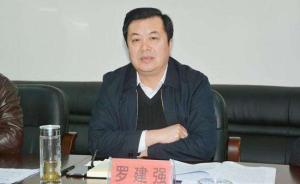 """贵州毕节市委原常委、副市长罗建强被""""双开"""""""