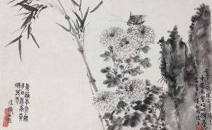 从西安美院的钱瘦铁溥松窗等课徒画稿,看中国画的灯灯相传