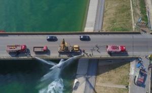 南水北调中线首次开展水污染应急联合演练,模拟危化品泄漏