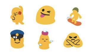 """随大流,谷歌""""布丁""""Emoji变圆脸"""