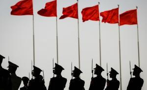 陆军新组建集团军的旅机关参谋部、政治工作部等部门陆续亮相