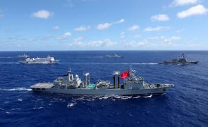 """""""环太军演""""中国阵容强大,美防长称有助于中美应对共同挑战"""