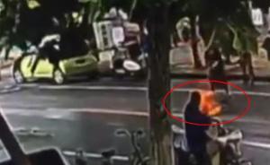 视频丨六旬环卫工指责女子乱扔垃圾被打休克,女子被拘10天