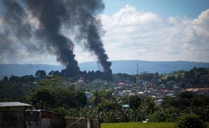 """菲律宾马拉维反恐美军首次介入,菲军方:提供""""技术支持"""""""