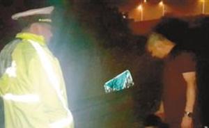 重庆一男子深夜酒驾出车祸称代驾跑了,五岁儿子现场拆穿谎言
