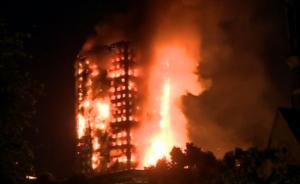 伦敦大火|已致50伤,逃生者没听到火灾警报,邻居敲门叫喊
