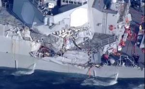 美国军舰与菲律宾货船相撞,美军舰上1人受伤、7人失踪