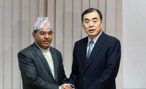 """中尼第11轮外交磋商,尼泊尔:愿积极参与""""一带一路""""建设"""