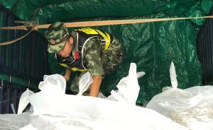 擒魔者⑧|西双版纳边防查缉点:战士全年穿十余公斤防弹装备