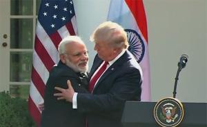 莫迪与特朗普首次会面显热络,美或向印度销售先进无人机