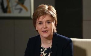 """苏格兰首席大臣改口:不会在英国""""脱欧""""前寻求二次独立公投"""