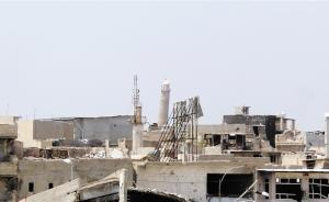 """伊政府军夺取努里清真寺,""""伊斯兰国""""曾在此宣称""""建国"""""""
