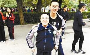 致信清华之前考生魏祥的12年:母亲每天往返学校3趟接送