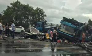 广东河北两起车祸致28死53伤,国家安监局工作组赶赴现场