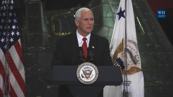 美国副总统访NASA