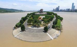 7月7日,长沙橘子洲橘子洲即将重新对外开放。视觉中国 图