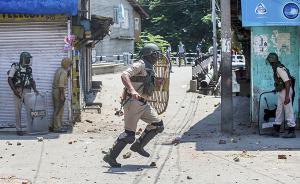 克什米尔硝烟再起,正值印度反政府武装领导人被杀一周年
