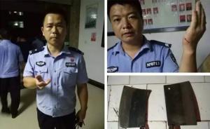 湖南宁乡警方:三村民强要救灾物资还打伤威胁民警,已拘两人