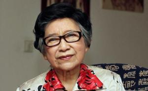著名越剧表演艺术家毕春芳去世,享年90岁