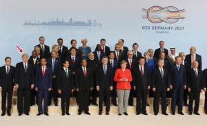 """G20合影特朗普""""靠边"""":固然有礼宾惯例,也暗藏政治心机"""