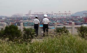 【砥砺奋进的五年】上海洋山港未来由系统自动调度,精确到秒