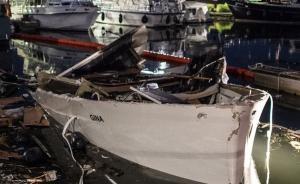 德国一游艇猛烈爆炸致13人受伤:多为消防员,事发时正灭火