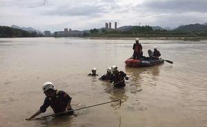江西修水:6月24日抗洪抢险2名失踪干部搜救工作仍在进行