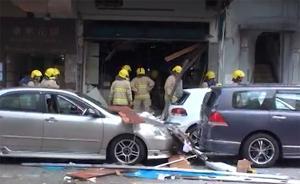 香港一茶餐厅爆炸造成4人受伤,工会称或由液化气泄漏引发