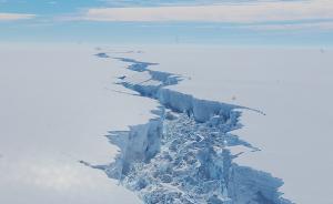 南极巨大冰山与冰架分离:接近上海面积,暂未影响海平面高度