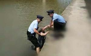 暖闻|四川宜宾一老人因病跳河轻生,民警施救嘱其家人多关心