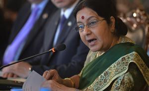 """印度外长国会上声称做好战争准备,但""""保持解决问题的耐心"""""""