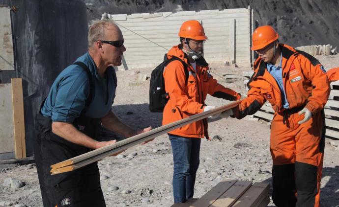 南極三棟百年老房子要修復,中國考察隊在協助